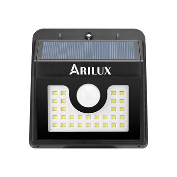 ARILUX® AL-SL 04 Super Bright 30 LED Solar PIR Motion Sensor Light Waterproof Outdoor Security Lamp