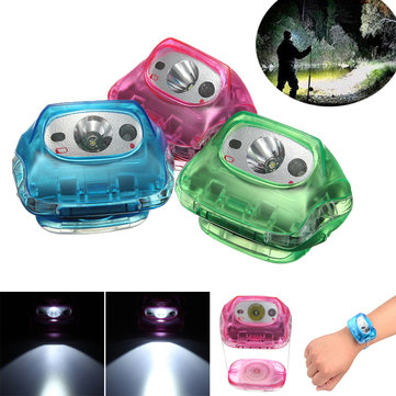 XANES 600LM Light Weight Small Headlamp Multi-purpose Adjustable 5 Mode Portable Headlight