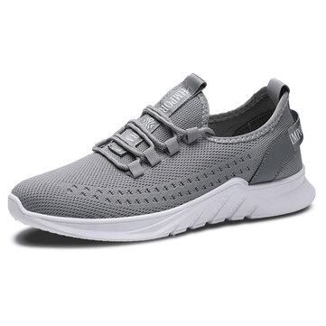 Men Breathable Mesh Athletic Shoes Casual Sports Shoes Sneakers
