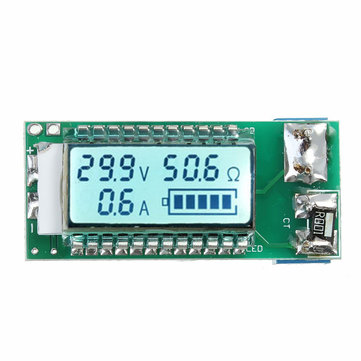 5pcs 18650 26650 Lithium Li-ion Battery Capacity Tester LCD Meter Voltage Current Capacity