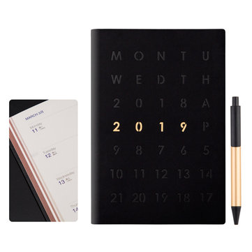 A5 Schedule Notebook Journal Planner Calendar Diary