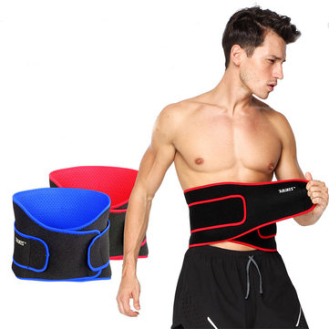 Sport Pressurized Waist Support Bandage Adjustable Breathable Keeping Warm Fit Weight Lifting