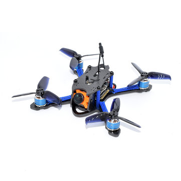 Aurora RC Mini Fight 110mm Micro RC FPV Racing Drone PNP BNF F3 NANO 4in1 BLHeli_S 28A 48CH 1500TVL HD