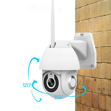 Xiaovv OU-9113-M4 HD 1080P PTZ Smart WIFI IP Camera Infrared Night Version M-otion Detection 355° Home Baby Monitors