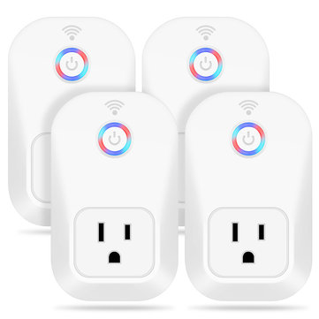 Smart Home WIFI Socket Wireless Remote Control AC110V-240V US Plug Appliance Automation