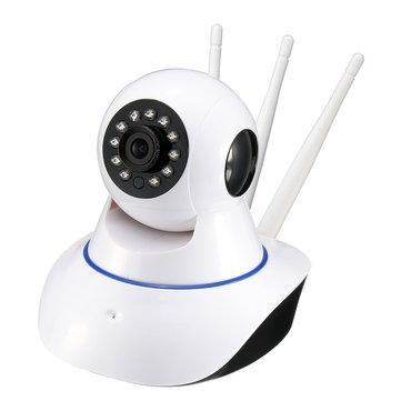 Wireless 720P PTZ Network Security กล้องวงจรปิด IP กล้อง Night Vision WiFi 360 °เว็บแคม EU Plug