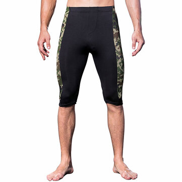 Men Leggings Camouflage Quick-drying Skinny Fitness Jogging Sport Shorts