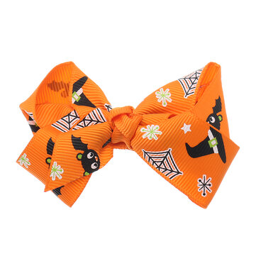 Halloween Cute Bowknot Hari Band Cartoon Kid's Ornament Head Accessories