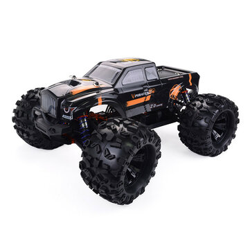 ZD Racing MT8 Pirates3 1/8 2.4G 4WD 90km/h Electric Brushless RC Car Metal Chassis RTR Model
