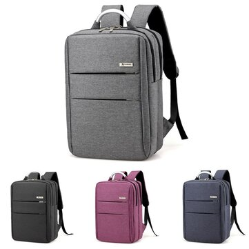 Men Women Waterproof Laptop Bag Computer Travel School Backpack Shoulder Bags