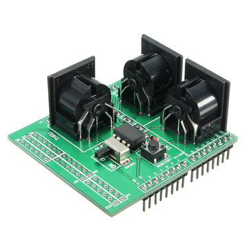 MIDI IN&OUT Port Shield Breakout Board For Arduino Uno AVI PIC Digital Interface
