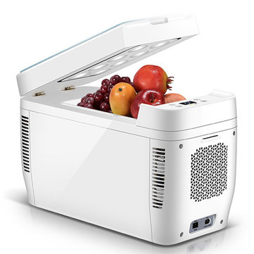 11L-15L Dual-core Small Household Refrigeration Mini Car Refrigerator