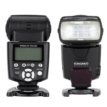 Yongnuo YN510EX On-camera Slave Flash Speedlite for Canon Nikon DSLR Camera