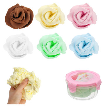 Nororo Paper Clay 300ml SOFT Ultralight DIY Non-Toxic Non-Brushed Space Sand Kids Play Toy