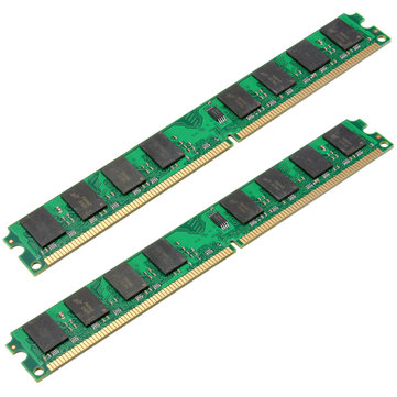 2PCS 2GB DDR2-800MHz PC2-6400 240PIN DIMM AMD Motherboard Memory RAM