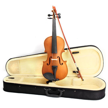 Deviser V-35 Spruce 1/2 1/4 Violin with Case Rosin Bow For Children