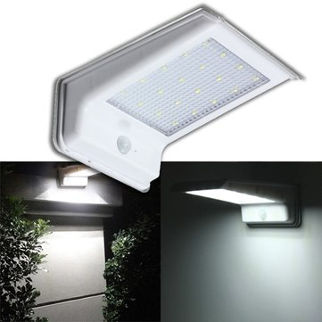 Waterproof 20 LED Solar Power PIR Motion Sensor Light Outdoor Security Lamp