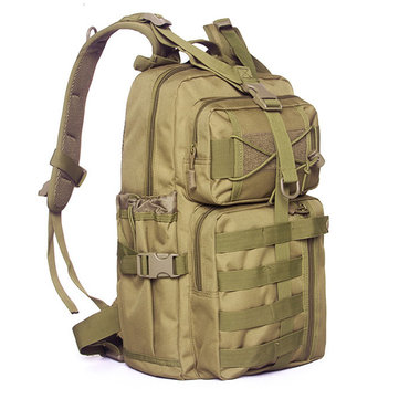 Men Nylon Waterproof Multifunction Capacity Tactical Backpack Outdoor Travel Hiking Shoulder Bag