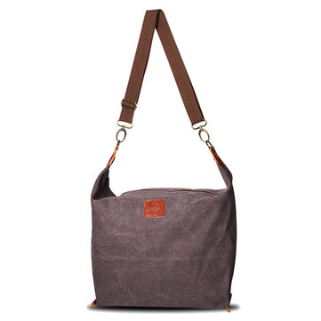 Women Retro Canvas Shoulder Bags Casual Crossbody Bags Messenger Bags