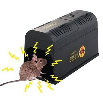 Electronic Rat And Rodent Trap Powfully Kill And Eliminate Rats Mice Or Other Similar Rodents Efficiently And Safely
