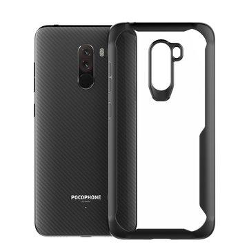 Cubierta trasera rígida a prueba de golpes transparente Bakeey ™ protectora Caso para Xiaomi Pocophone F1