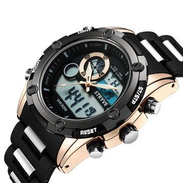 STRYVE S8006 Luminous Chronograph Dual Display Digital Watch