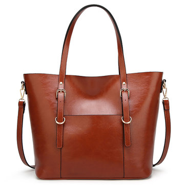 Solid Color Tote Ladies Bag Shoulder Bag Designer Hangbag