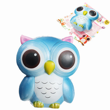 Sunny Squishy Owl 15cm Gift Slow Rising With Packaging Cute Animals Collection Decor Toy