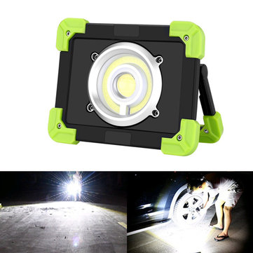 ARILUX® Portable 20W LED COB Work Light USB Rechargeable Waterproof Flood light for Outdoor Camping