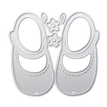 Baby shoes Metal Cutting Dies DIY Album Frame Scrapbooking Maker Stencils Embossing Card DIY Gift