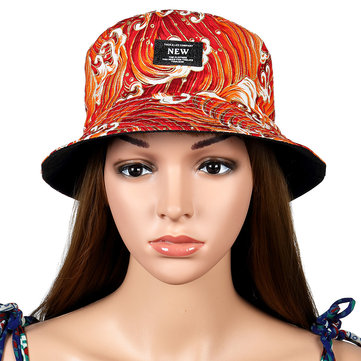 Men Women Street Double-faced Bucket Hat