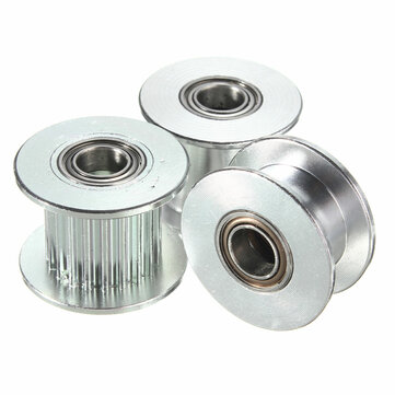 GT2 Poleas Tensoras de Sincronización de Aluminio para Imerasora 3D DIY