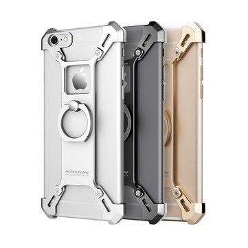 NILLKIN Barde Metal Halka Tutucu Kılıf Darbeye Dayanıklı Arka Kapak Tamponu iPhone 6 6s için