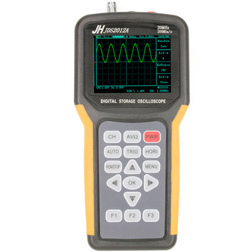 JDS2012A Digital Handheld Oscilloscope 1 Channels 20MHz 200MSa/s Sample Rate Oscilloscope with Multimeter