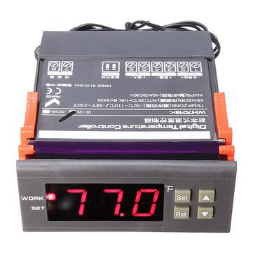 Wh7016k DC12V semicondutores digitais controlador de temperatura termoelétrica refrigerador termostato Peltier