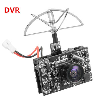 Eachine DVR03 DVR AIO 5.8G 72CH 0/25/50/200mW Switchable VTX 520TVL 1/4 Cmos FPV Camera for RC Drone