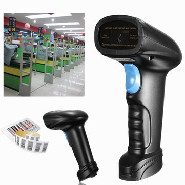 Wireless Bluetooth Handheld POS USB Laser Scan Barcode Reader Barcode Scanner