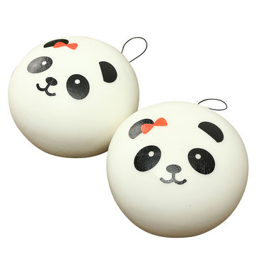 Kawaii Jumbo Panda Squishy Bun Cell Phone Bag Strap Pendant
