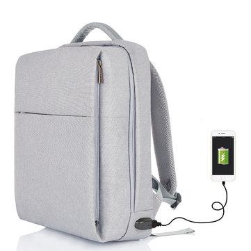 Многофункциональный Водонепроницаемы Компьютерный цифровой аксессуар Сумка Противоугонный рюкзак с USB-портом для зарядки