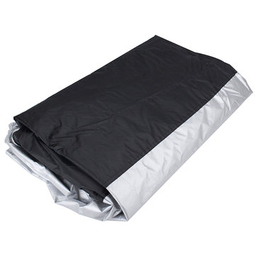 265x105x125CM XXL Motorcycle Cover Waterproof Rain Dust UV Protector All Weather Rain Heavy Duty
