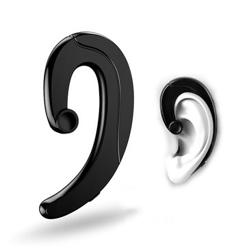 Joyroom P1 Ultrathin Earhook Bluetooth Earphone Headphone With Mic CVC 6.0 Noise Cancelling