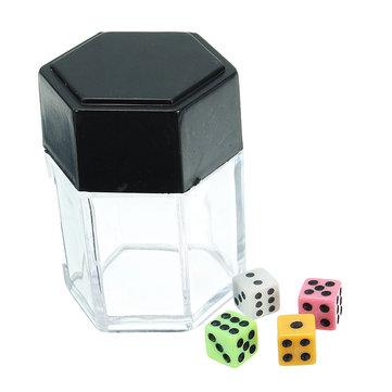 Giocattoli di trucco grandi esplodono i dadi di esplosione vicino in su Magia regalo dei bambini del giocattolo del pizzico 1Change 4