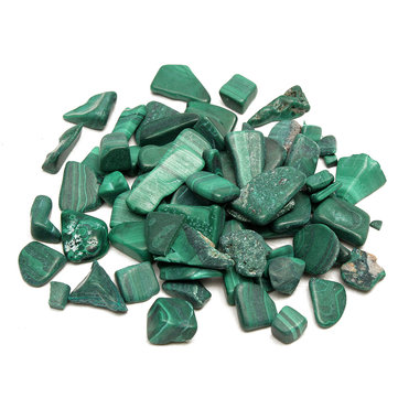 100g Malachite Stones Polished Body Healing DIY Design Jewelry Accessories