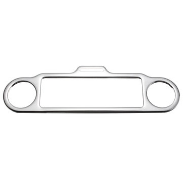 Trim Ring Stereo Accent Cover For Harley Davidson Electra Street Glide Touring Chrome