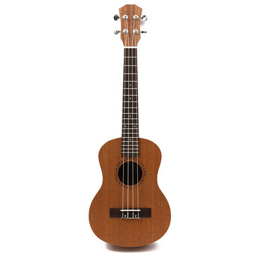 26 Inch 4 Strings Professional Tenor Ukulele Hawaii Guitar Sapele 18 Fret