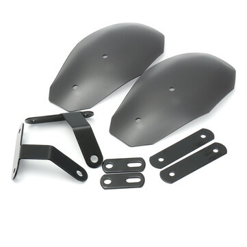 Motorcycle Hand Guard Handlebar Handguards Wind Deflector Protector Shield For Harley Honda Custom