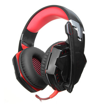 Foldable 3.5mm LED Gaming Headphone USB Interface Stereo Gaming Headset with Mic