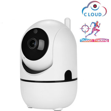 Auto Tracking AI Technoloty 1080P 720P Cloud Wireless Wifi IP Camera Home Security Surveillance CCTV Network Mini Camera