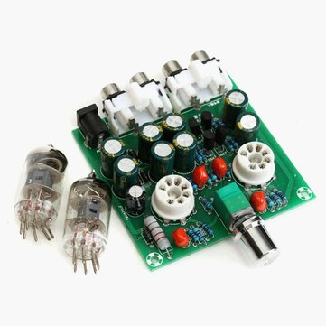 AC12V/1A Stereo 2.0 Pre Amplifier Headphone Module Amplifier Buffer Board
