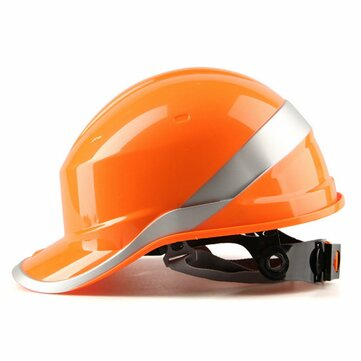 Diamond V Hard Hats Safety Work 8 Point Vented Construction Ratchet Helmets New